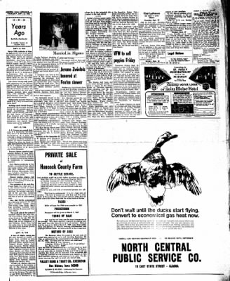 Kossuth County Advance from Algona, Iowa on September 22, 1966 · Page 13