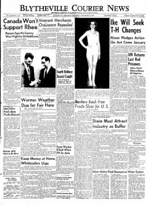The Courier News from Blytheville, Arkansas on September 23, 1953 · Page 1