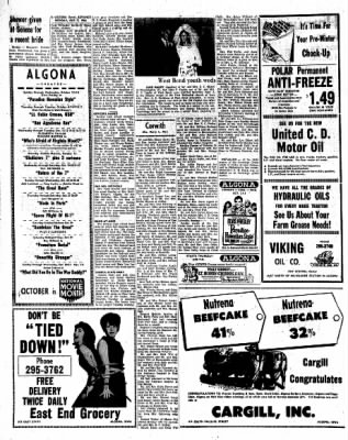 Kossuth County Advance from Algona, Iowa on October 3, 1966 · Page 6