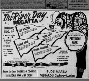 1968 Chamber Tri-River Day Regatta