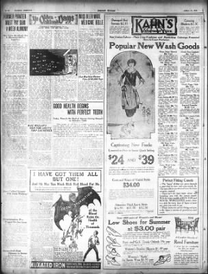 Oakland Tribune from Oakland, California on April 10, 1921 · Page 8