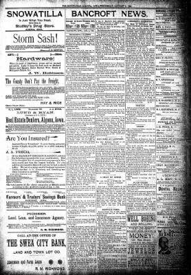 The Algona Republican from Algona, Iowa on January 2, 1895 · Page 8