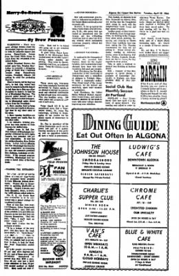 The Algona Upper Des Moines from Algona, Iowa on April 19, 1966 · Page 10