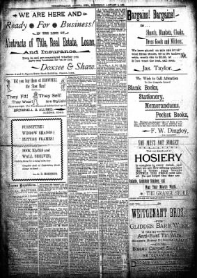 The Algona Republican from Algona, Iowa on January 9, 1895 · Page 5