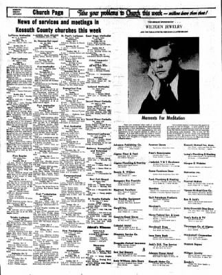 Kossuth County Advance from Algona, Iowa on October 6, 1966 · Page 18