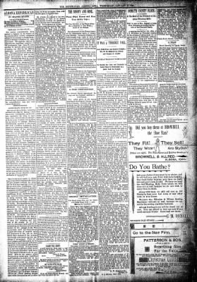 The Algona Republican from Algona, Iowa on January 16, 1895 · Page 4