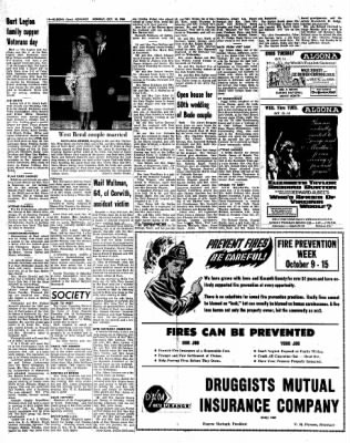 Kossuth County Advance from Algona, Iowa on October 10, 1966 · Page 4