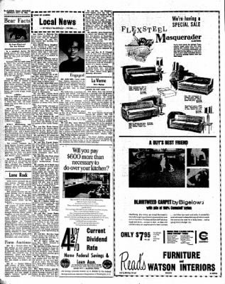 Kossuth County Advance from Algona, Iowa on October 10, 1966 · Page 8