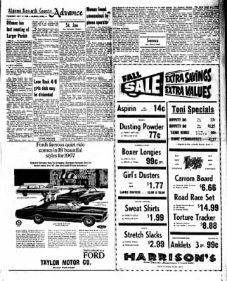 Kossuth County Advance from Algona, Iowa on October 13, 1966 · Page 7