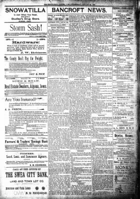 The Algona Republican from Algona, Iowa on January 23, 1895 · Page 8
