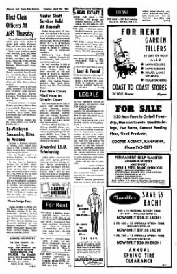 The Algona Upper Des Moines from Algona, Iowa on April 26, 1966 · Page 13