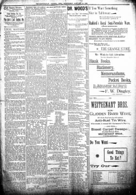 The Algona Republican from Algona, Iowa on January 30, 1895 · Page 5