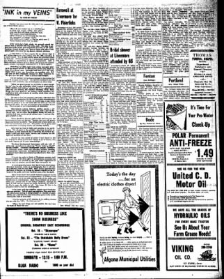 Kossuth County Advance from Algona, Iowa on October 13, 1966 · Page 17