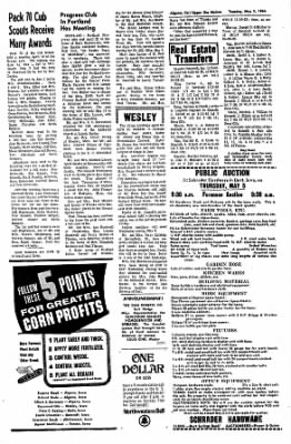 The Algona Upper Des Moines from Algona, Iowa on May 3, 1966 · Page 12
