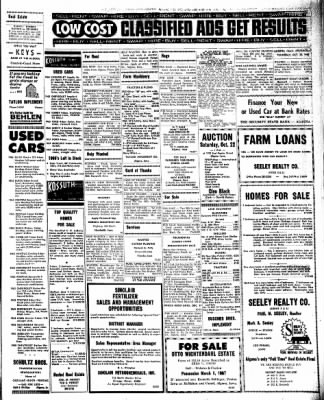 Kossuth County Advance from Algona, Iowa on October 20, 1966 · Page 7