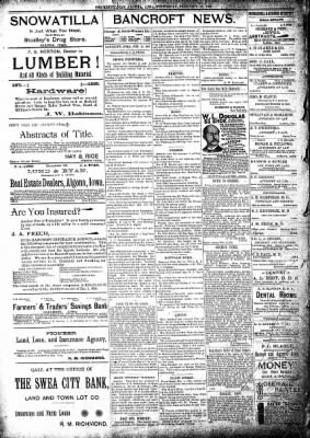 The Algona Republican from Algona, Iowa on February 13, 1895 · Page 8