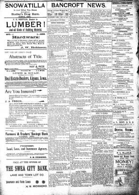 The Algona Republican from Algona, Iowa on February 20, 1895 · Page 8