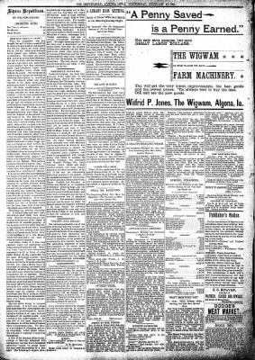 The Algona Republican from Algona, Iowa on February 27, 1895 · Page 4