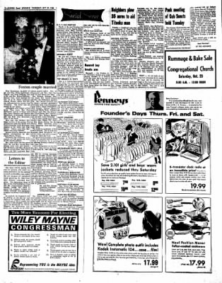 Kossuth County Advance from Algona, Iowa on October 27, 1966 · Page 8