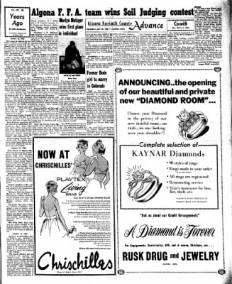 Kossuth County Advance from Algona, Iowa on October 27, 1966 · Page 9