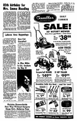 The Algona Upper Des Moines from Algona, Iowa on May 10, 1966 · Page 6