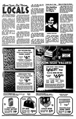 The Algona Upper Des Moines from Algona, Iowa on May 17, 1966 · Page 12