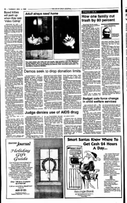 Ukiah Daily Journal from Ukiah, California on December 4, 1990 · Page 6