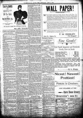 The Algona Republican from Algona, Iowa on April 10, 1895 · Page 5