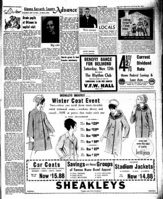 Kossuth County Advance from Algona, Iowa on November 10, 1966 · Page 7