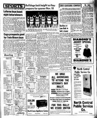 Kossuth County Advance from Algona, Iowa on November 10, 1966 · Page 9