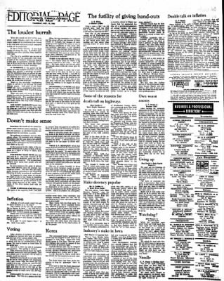 Kossuth County Advance from Algona, Iowa on November 10, 1966 · Page 16