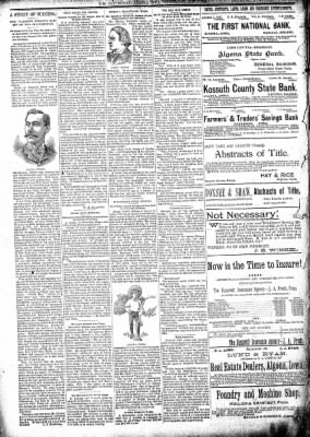 The Algona Republican from Algona, Iowa on May 1, 1895 · Page 2