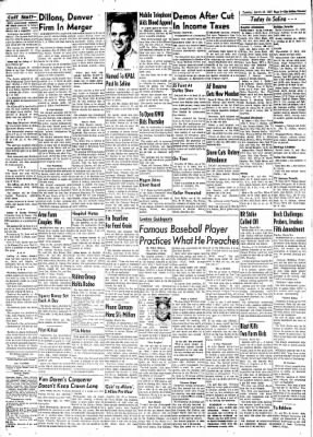The Salina Journal from Salina, Kansas on March 26, 1957 · Page 8