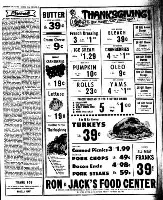 Kossuth County Advance from Algona, Iowa on November 17, 1966 · Page 3