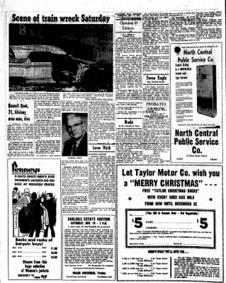 Kossuth County Advance from Algona, Iowa on November 17, 1966 · Page 4