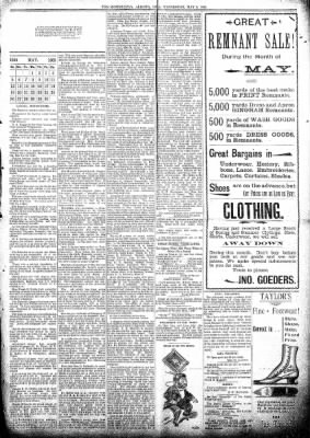 The Algona Republican from Algona, Iowa on May 8, 1895 · Page 5