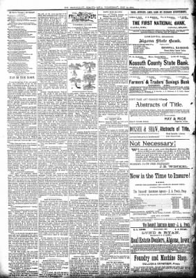 The Algona Republican from Algona, Iowa on May 15, 1895 · Page 2