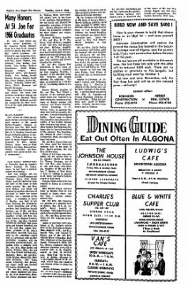 The Algona Upper Des Moines from Algona, Iowa on June 7, 1966 · Page 6