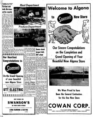 Kossuth County Advance from Algona, Iowa on December 8, 1966 · Page 16