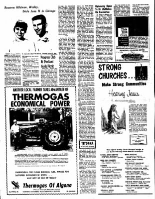 The Algona Upper Des Moines from Algona, Iowa on June 23, 1966 · Page 2
