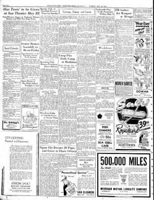 The evening news from sault sainte marie michigan on may 14 1940 the evening news from sault sainte marie michigan on may 14 1940 page 2 m4hsunfo