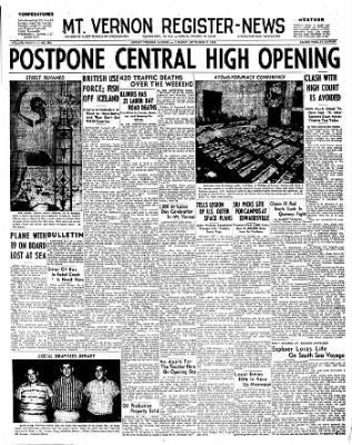 Mt. Vernon Register-News from Mt Vernon, Illinois on September 2, 1958 · Page 1