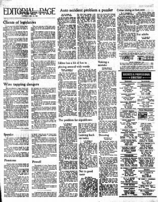Kossuth County Advance from Algona, Iowa on December 15, 1966 · Page 18