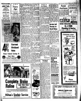 Kossuth County Advance from Algona, Iowa on December 15, 1966 · Page 19
