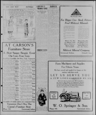 The Franklin Evening Star From Franklin Indiana On February 8 1927