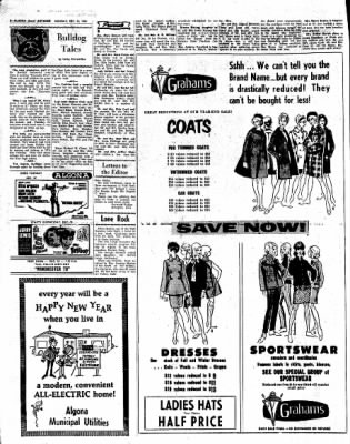 Kossuth County Advance from Algona, Iowa on December 26, 1966 · Page 2