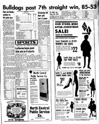 Kossuth County Advance from Algona, Iowa on December 26, 1966 · Page 9