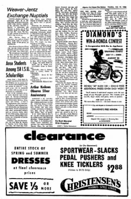 The Algona Upper Des Moines from Algona, Iowa on July 12, 1966 · Page 14
