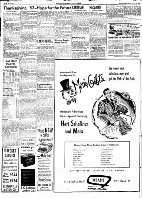 The Courier News from Blytheville, Arkansas on November 25, 1953 · Page 3