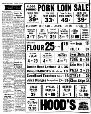 Kossuth County Advance from Algona, Iowa on January 7, 1965 · Page 2